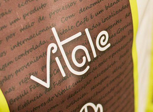 Criação da marca do Vitale Café