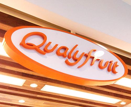 Criação da marca do Restaurante Qualyfruit - Marca