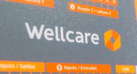 Criação da marca da Wellcare - Aplicação
