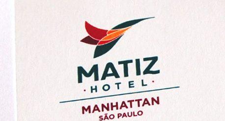Criação da marca do Matiz Hotel